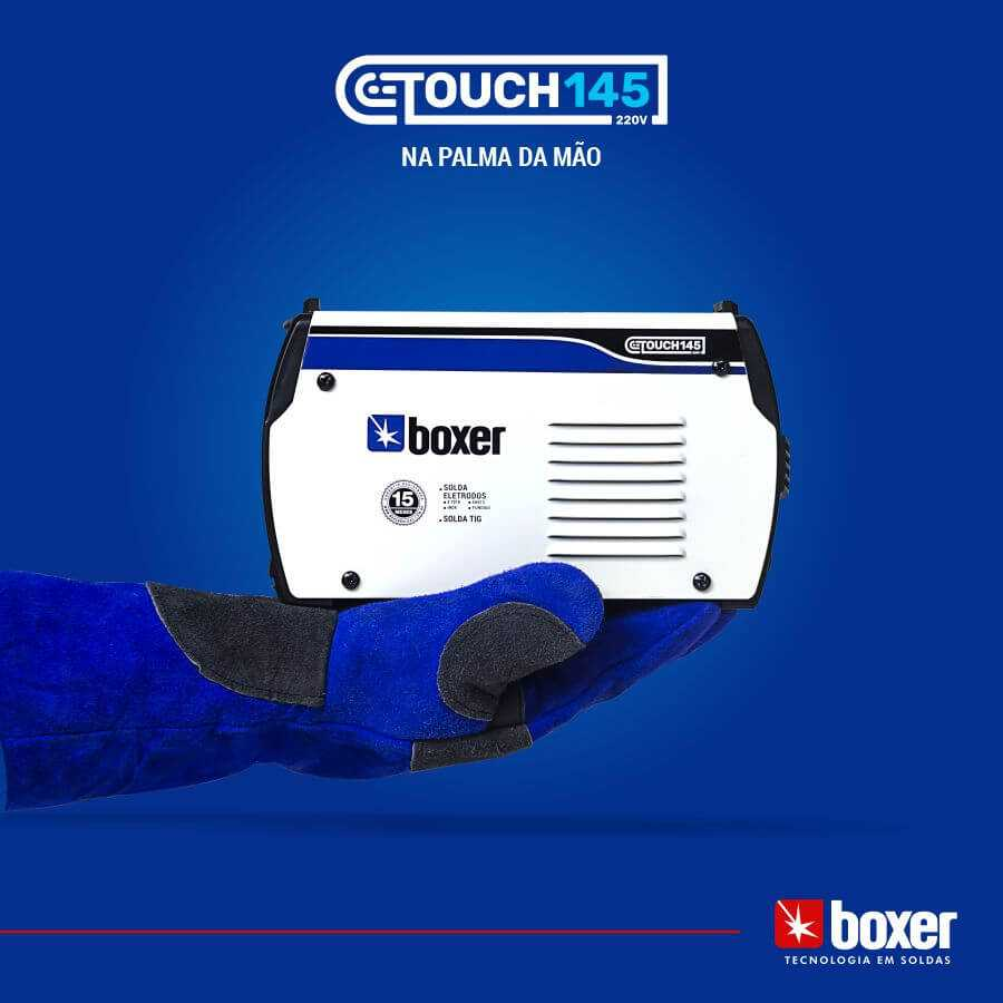 Maquina de Solda 140A Touch 145 220V Boxer