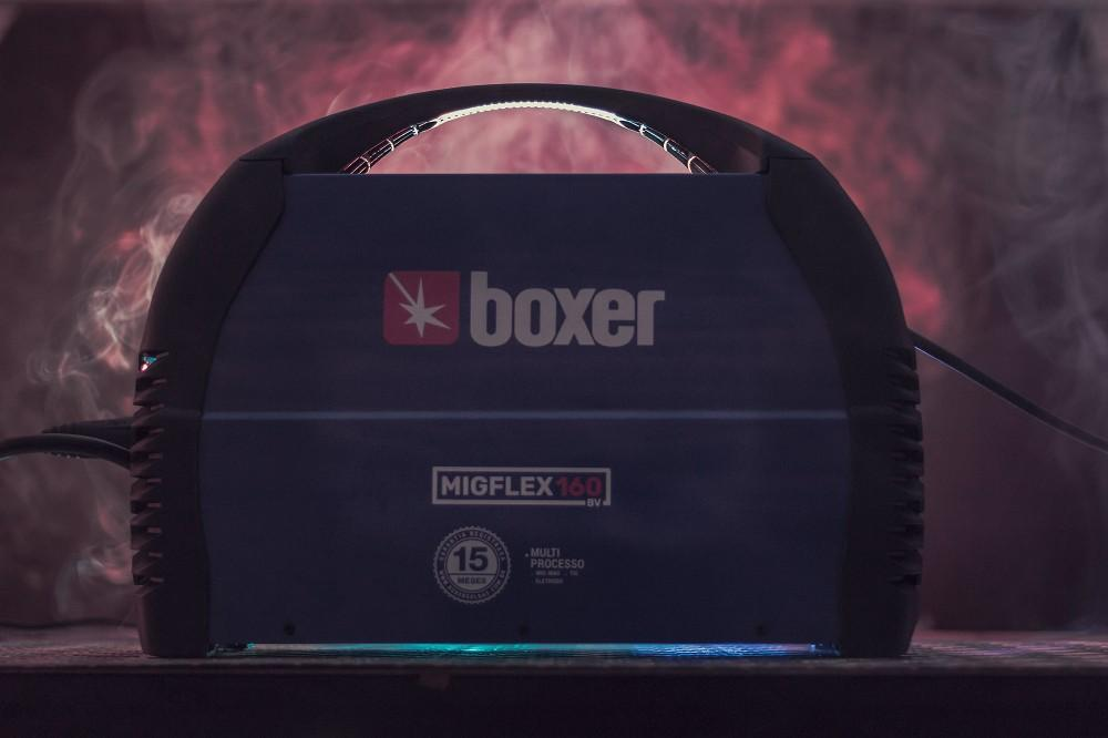Maquina de Solda 160A MigFlex 160BV Bivolt Boxer