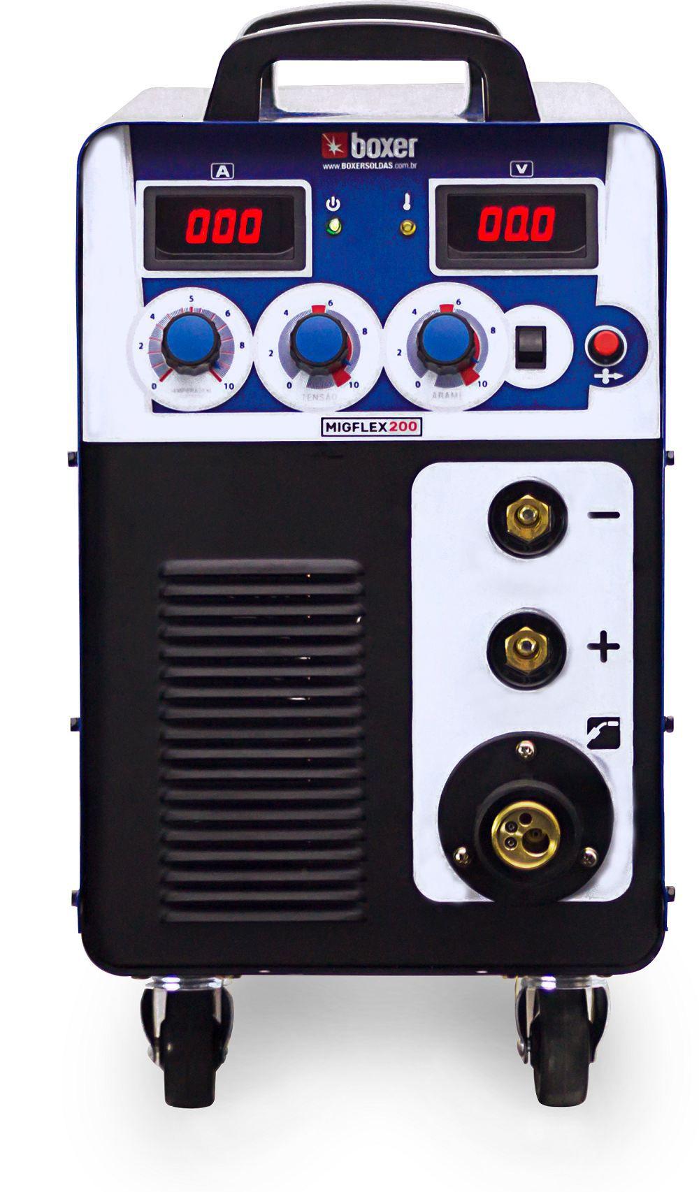 Maquina de Solda 200A MigFlex 200 220V Boxer