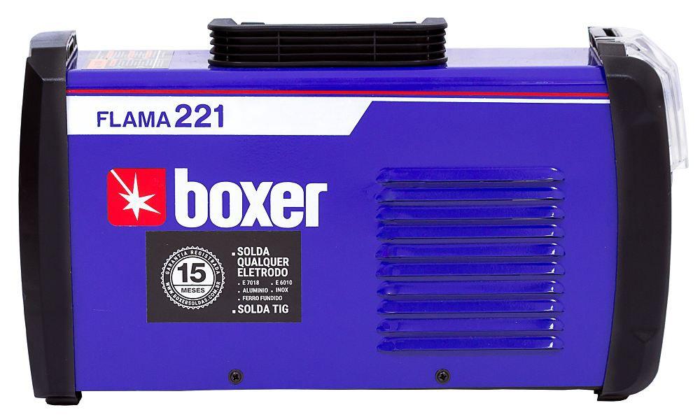 Maquina de Solda 220A FLAMA 221 220V Boxer