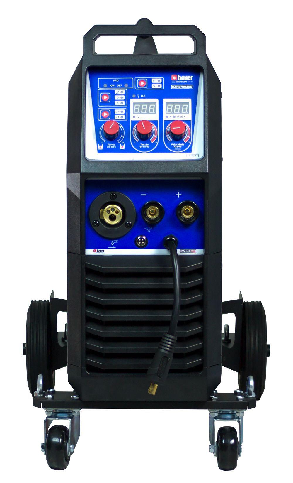 Maquina de Solda 300A HardMig 325 Flex 220V Boxer