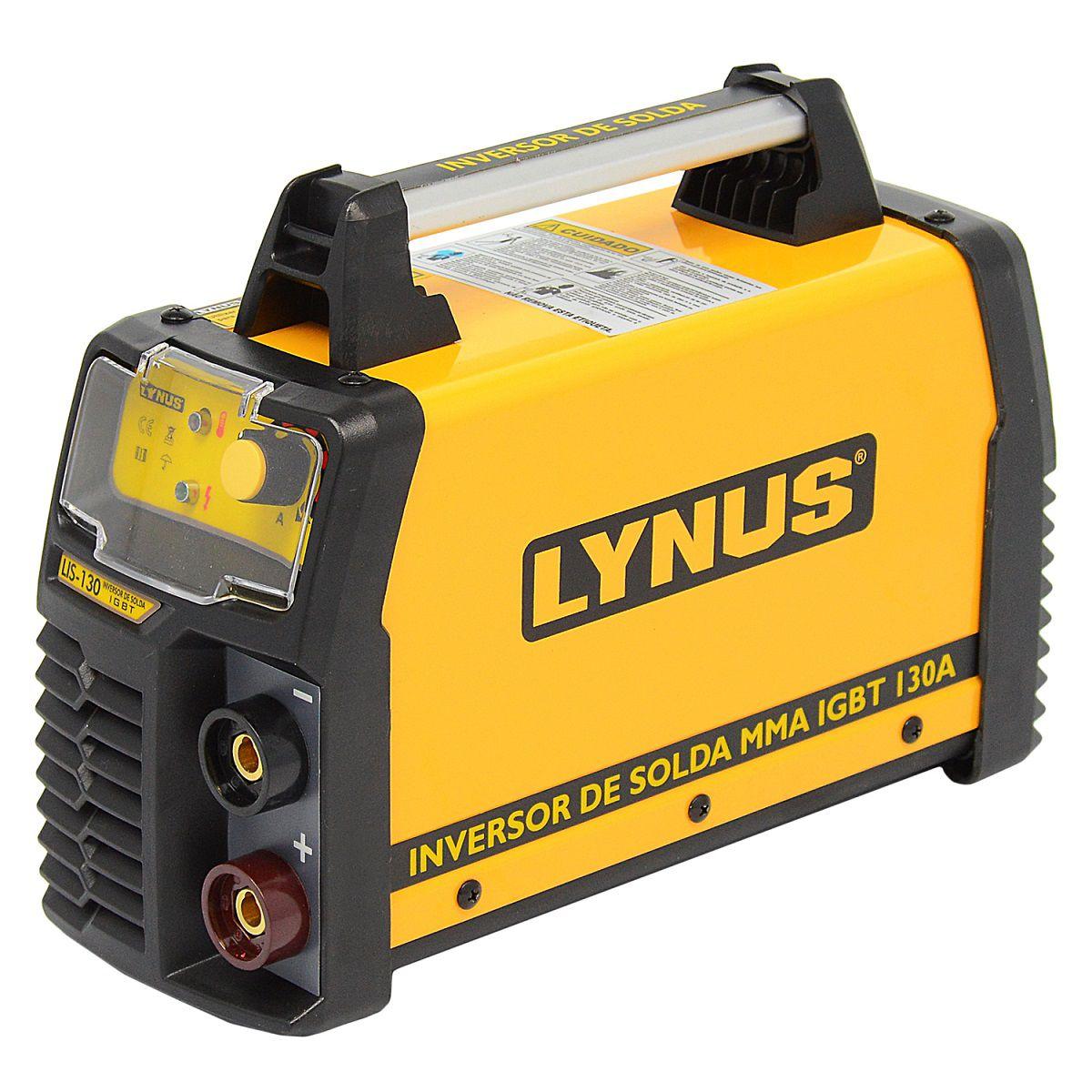 Maquina De Solda Inversora 130a Portátil 220v - Lynus