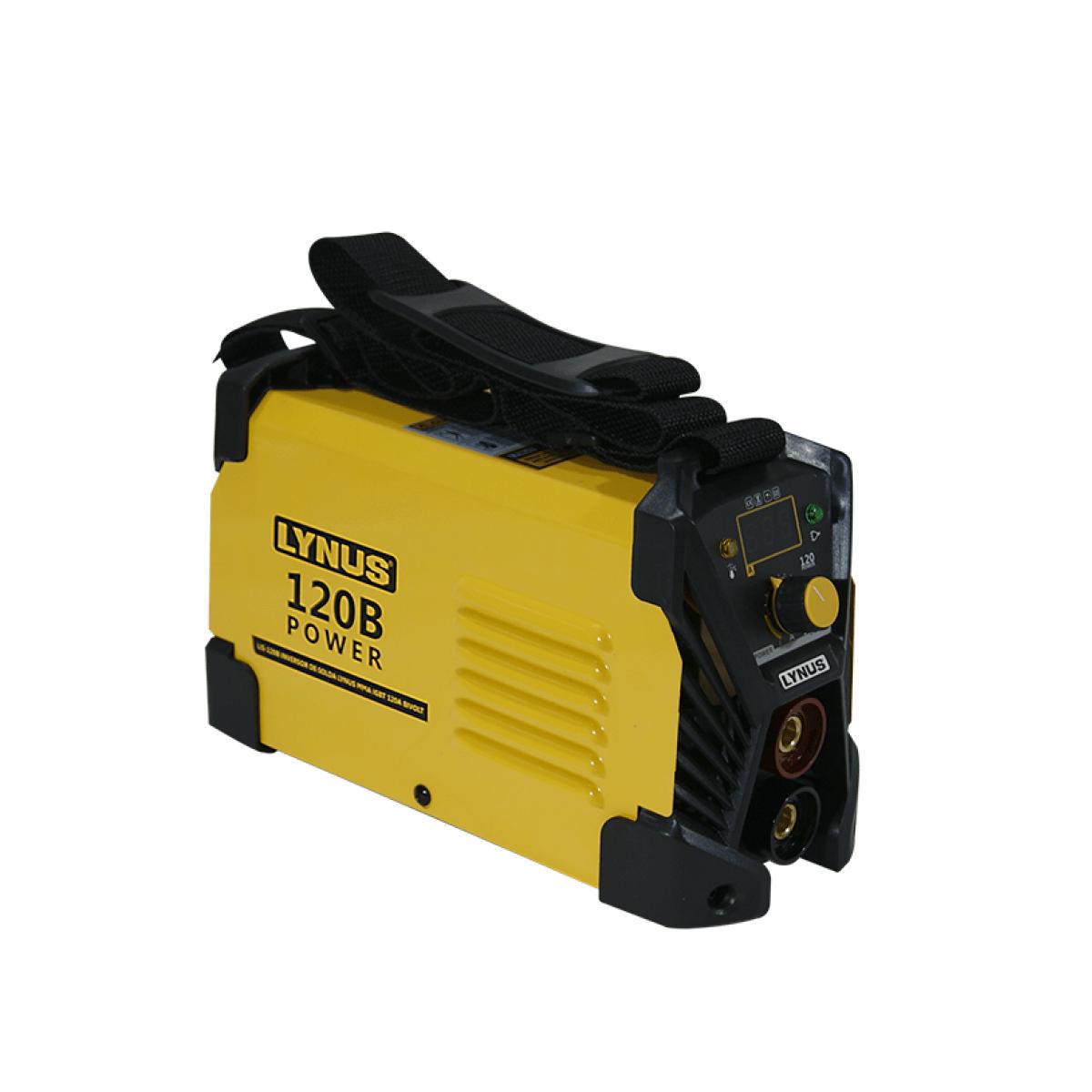 Máquina De Solda Inversora LIS-120B Power Bivolt Lynus