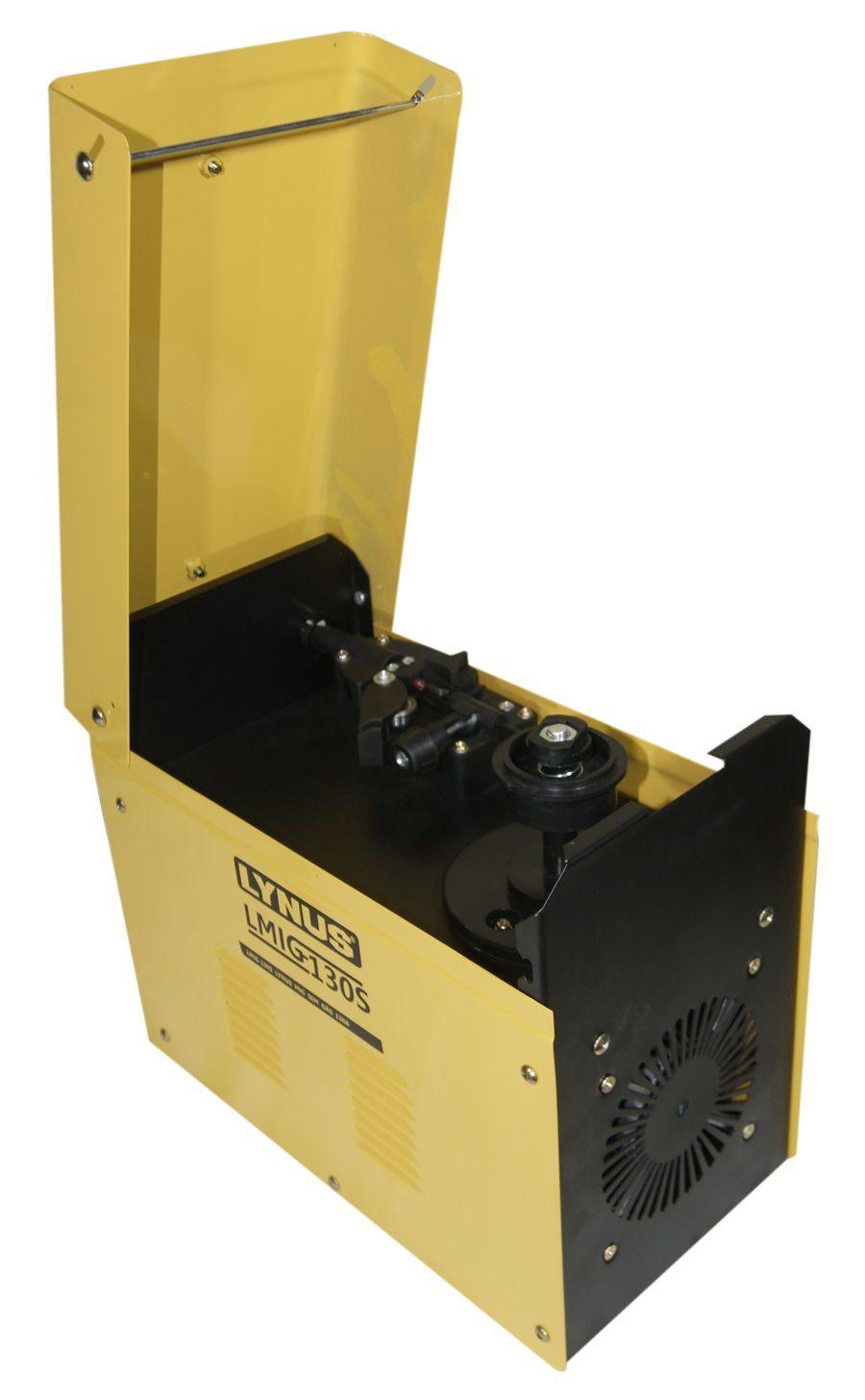 Máquina de Solda MIG Sem Gás LMIG 130S - Lynus