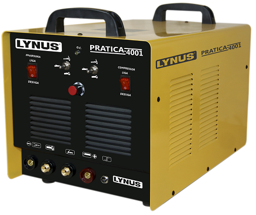 Maquina Inversor De Solda Multiprocessos Plasma 4 em 1 LIP4001 Lynus