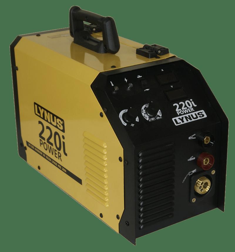 Máquina Inversora De Solda Mig Portatil Lynus Lis 220 I