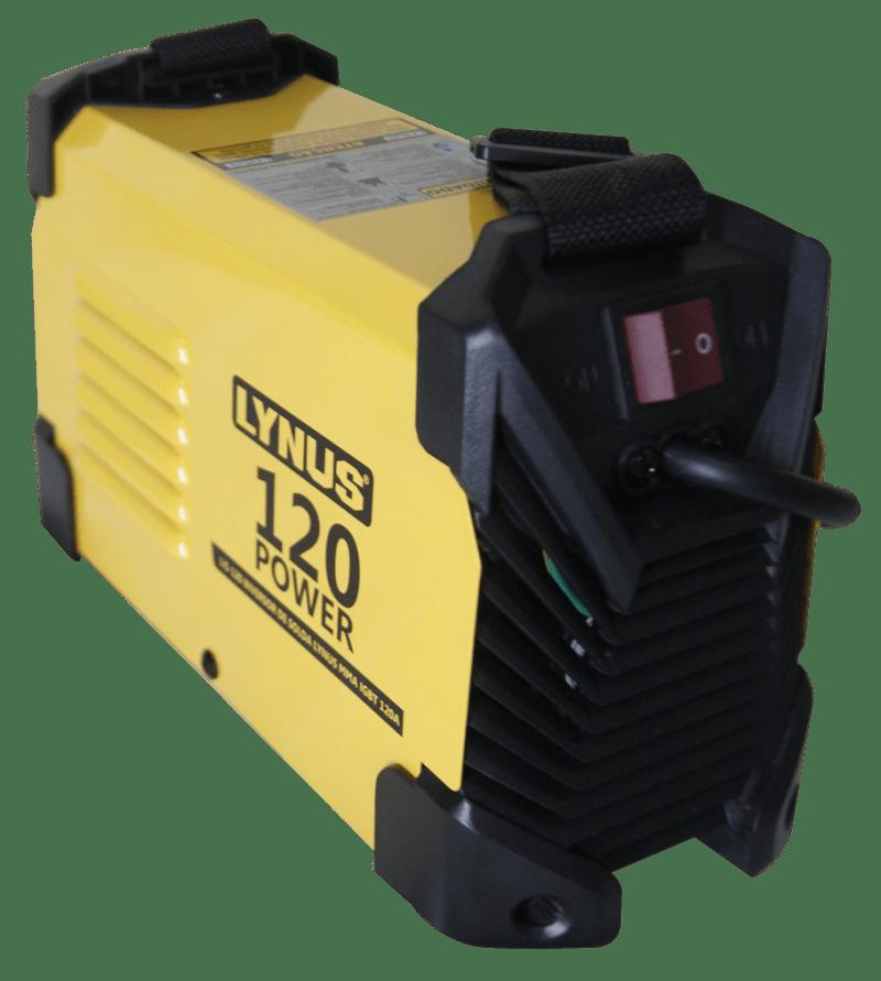Máquina Inversora de Solda MMA LIS-120  220v Power 120A com Display Digital - LYNUS