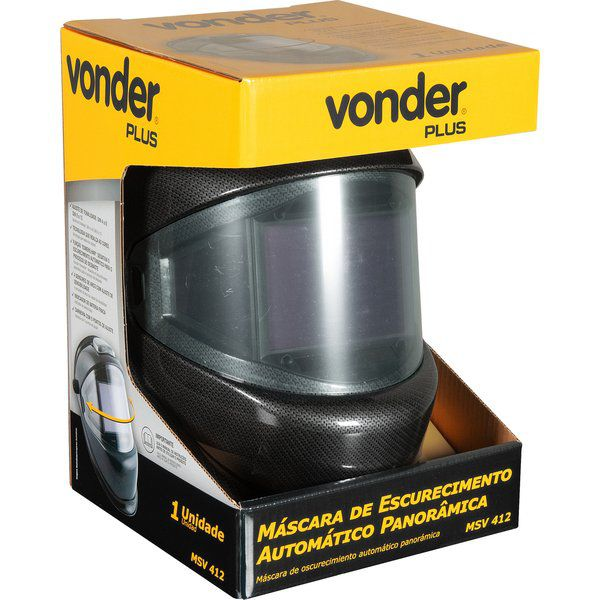 Máscara de Escurecimento Automático Panorâmica MSV 412 Vonder