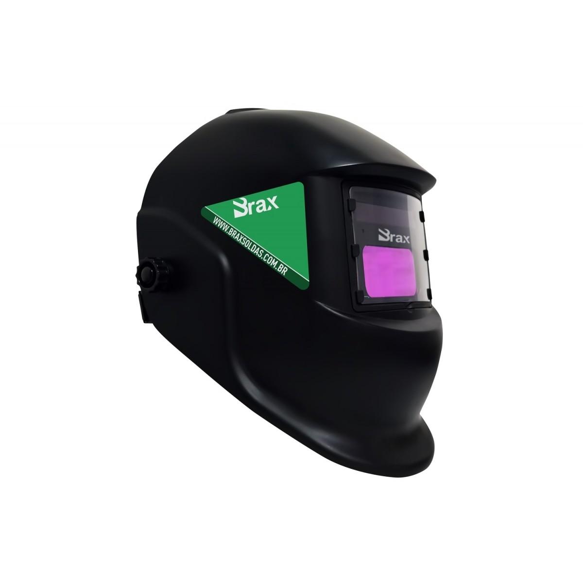 Máscara de Solda Automática Sem Regulagem - Brax Soldas
