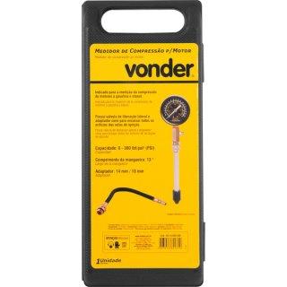Medidor de compressão para motor 0 - 300 PSI Vonder