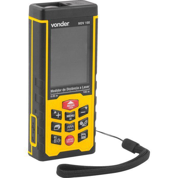 Medidor de Distância a Laser 100m MDV 100 Vonder