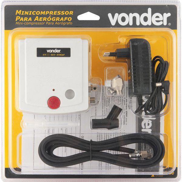 Minicompressor para aerógrafo VONDER