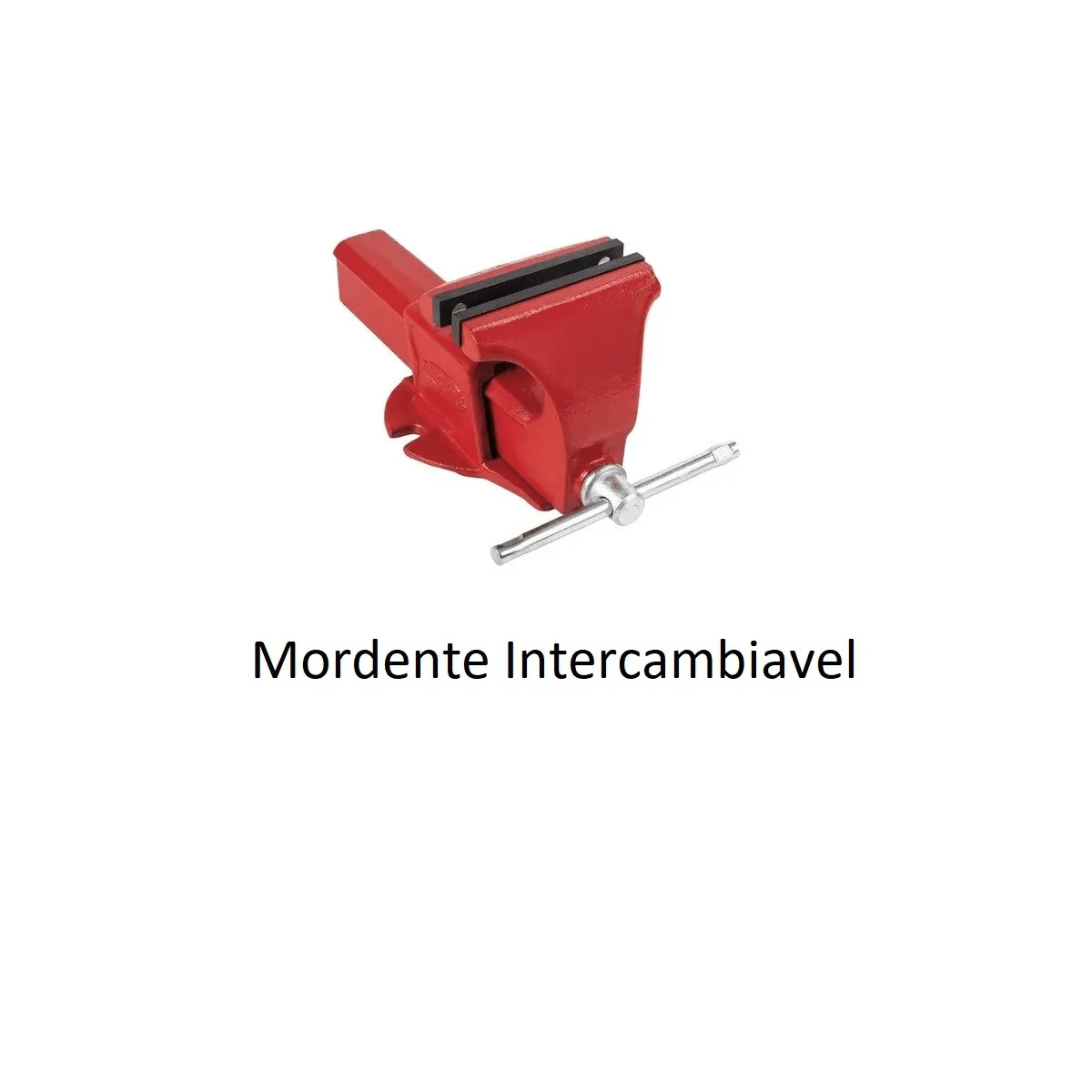Morsa Torno de Bancada Nr3 Mordente Intercambiável Metalsul