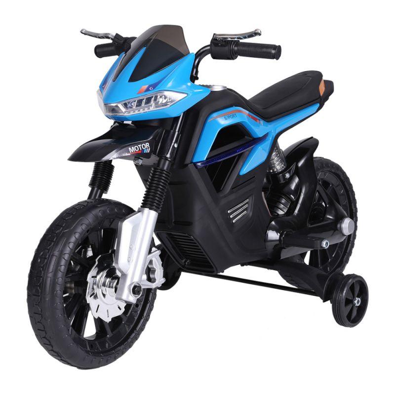 Moto Big Trail 6V Azul BelFix