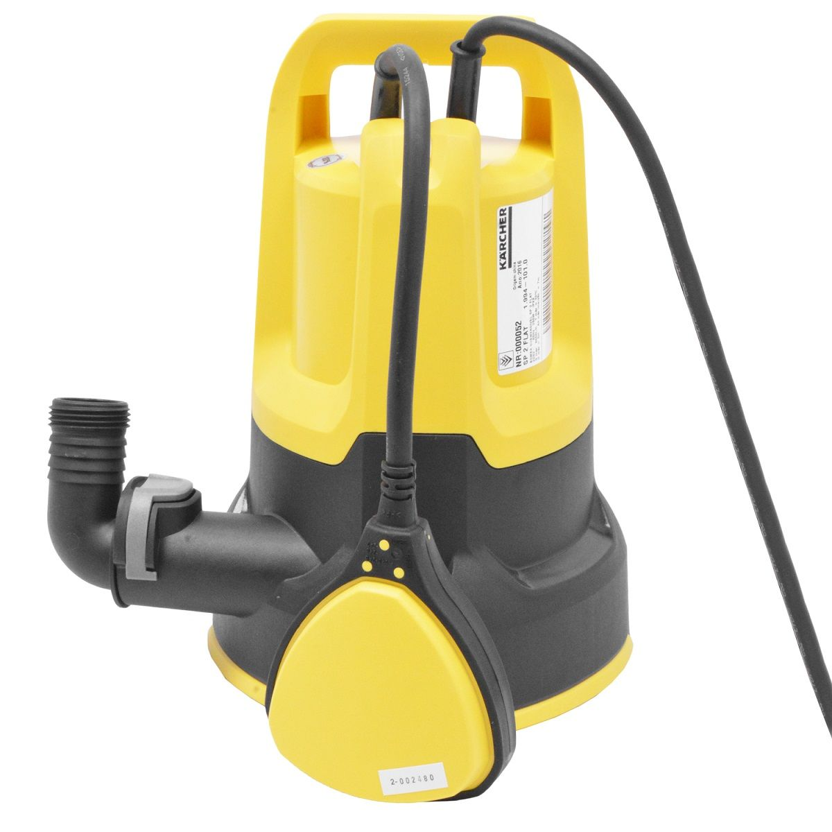 Motobomba Drenagem Submersa 250w SP2 Flat - Karcher