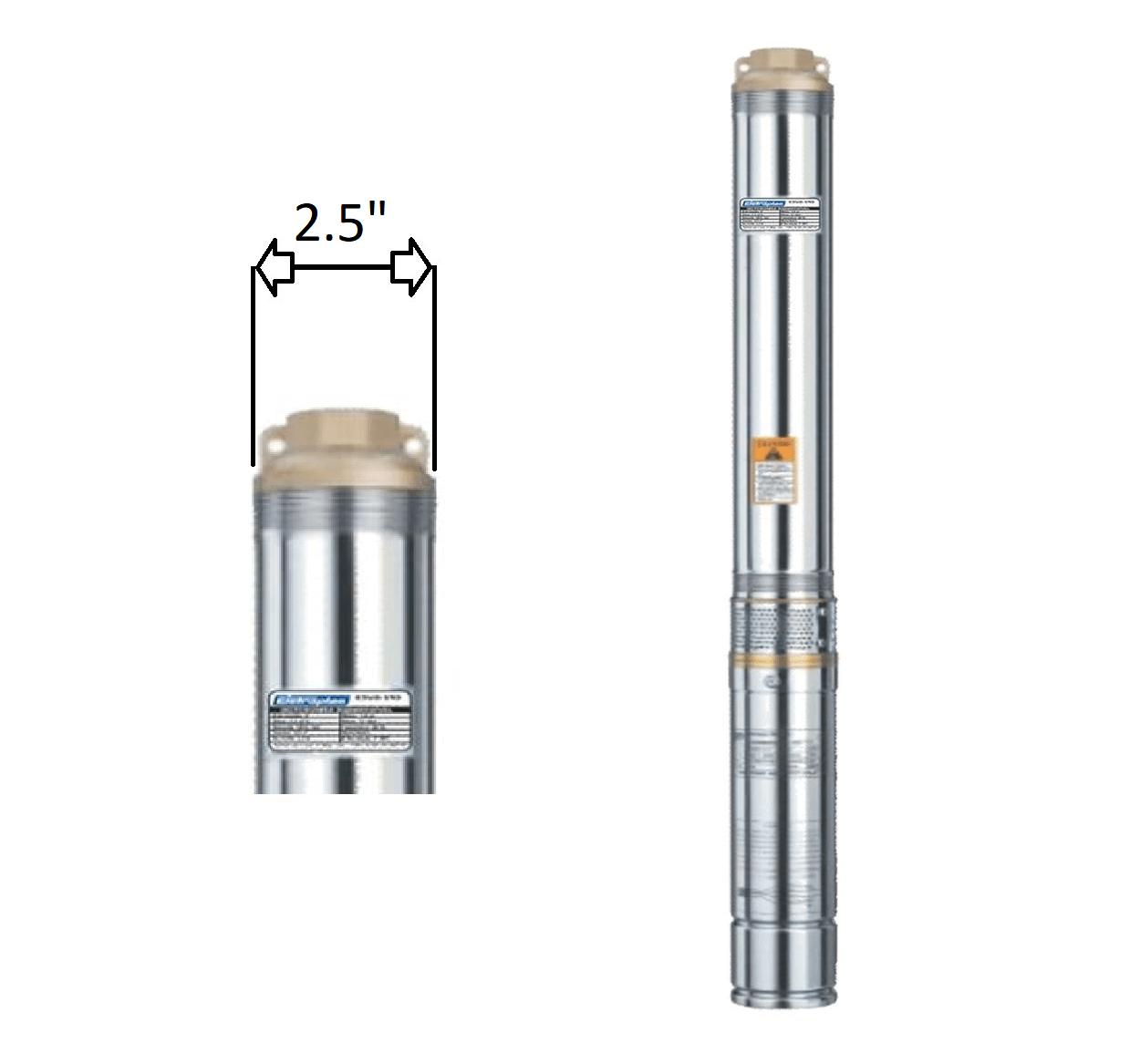 "Motobomba Submersa Caneta 1/3Cv 2,5"" ESUB-2.5/11 220V Eletroplas"