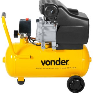 Motocompressor de Ar MCV 216 21,6L 220V Vonder