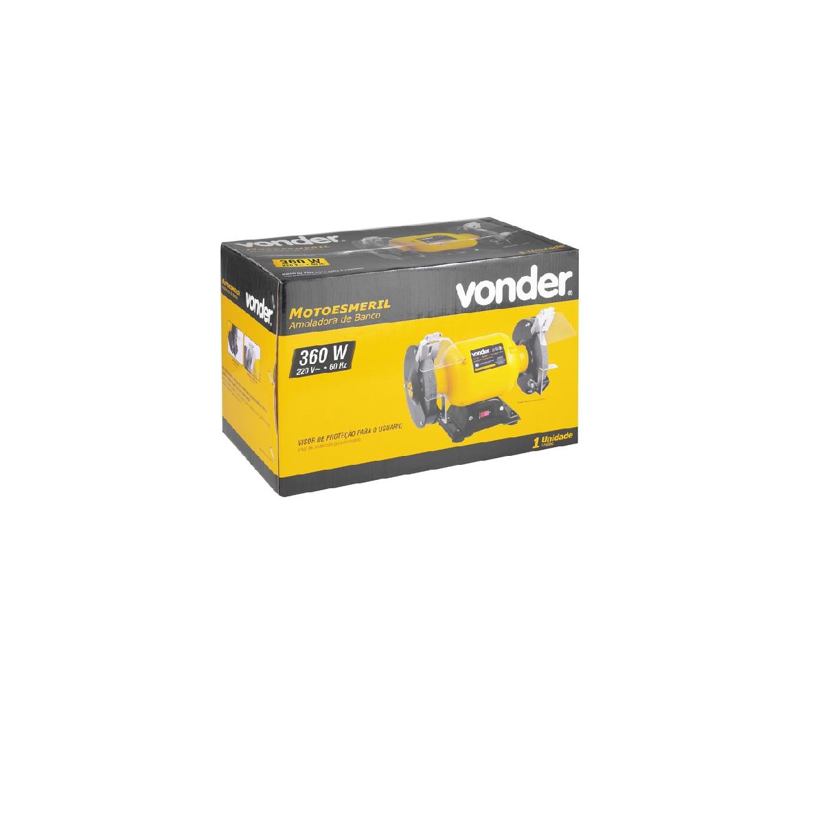 "Motoesmeril de Bancada 6"" 360W 220V VONDER"