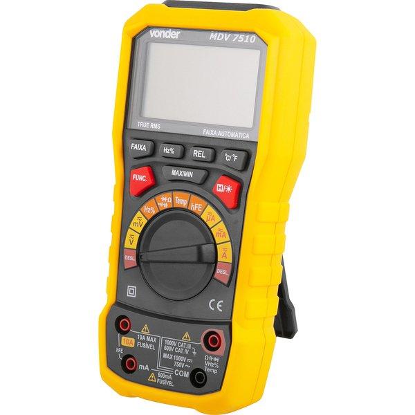 Multímetro digital TRUE-RMS MDV 7510 VONDER