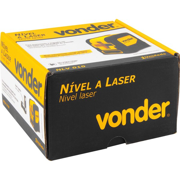 Nível a laser 10m NLV 010 VONDER