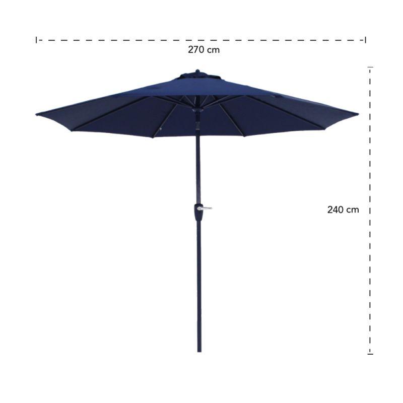 Ombrellone Bari 2,7m Azul BelLazer
