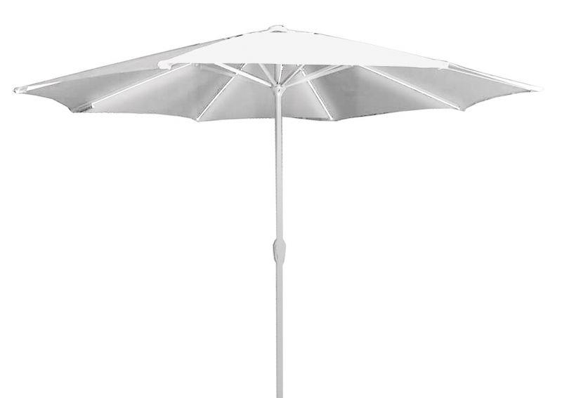 Ombrellone Vittoria 2,7m 100% Aluminio com LED Branco BelLazer