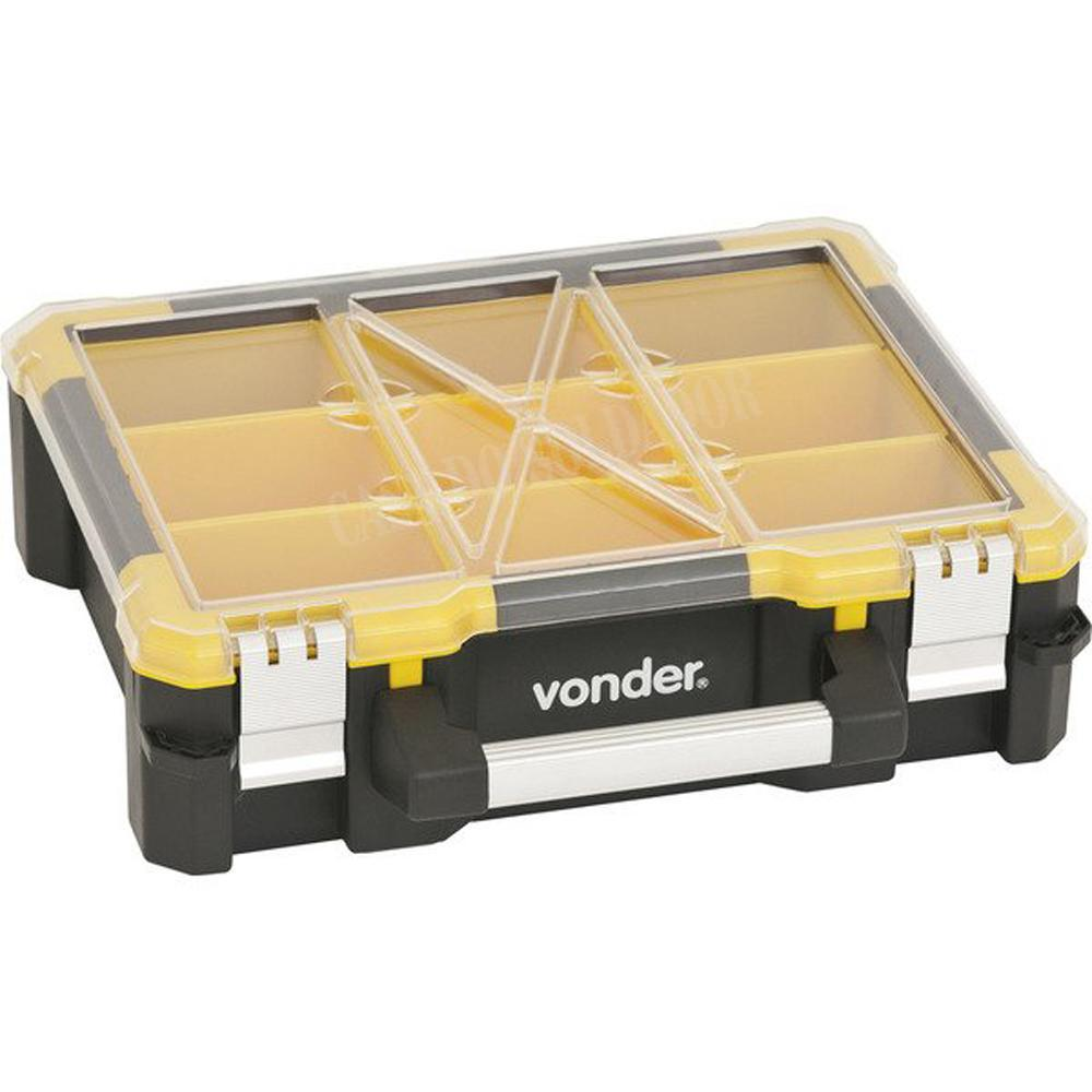 Organizador Plástico Multiuso 9 Compartimentos - Vonder