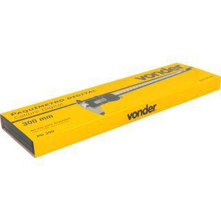 Paquímetro digital 300 mm PD 300 VONDER