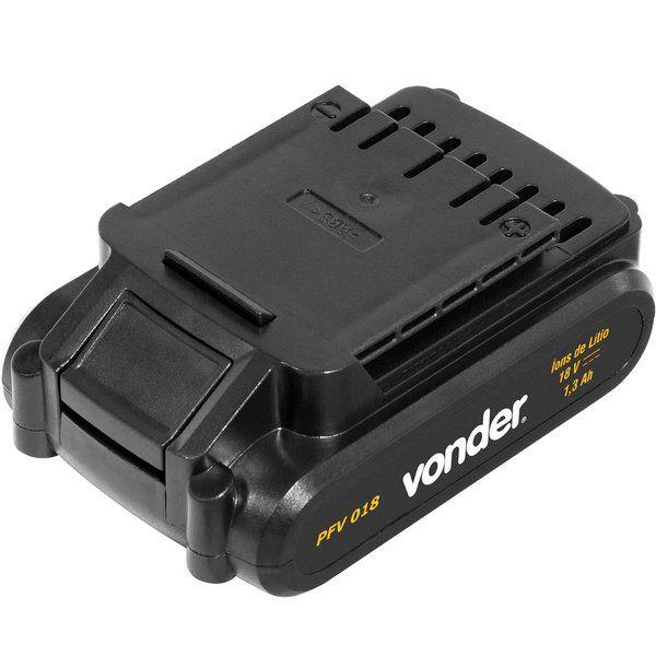 Parafusadeira/Furadeira com 2 Baterias18v - Vonder