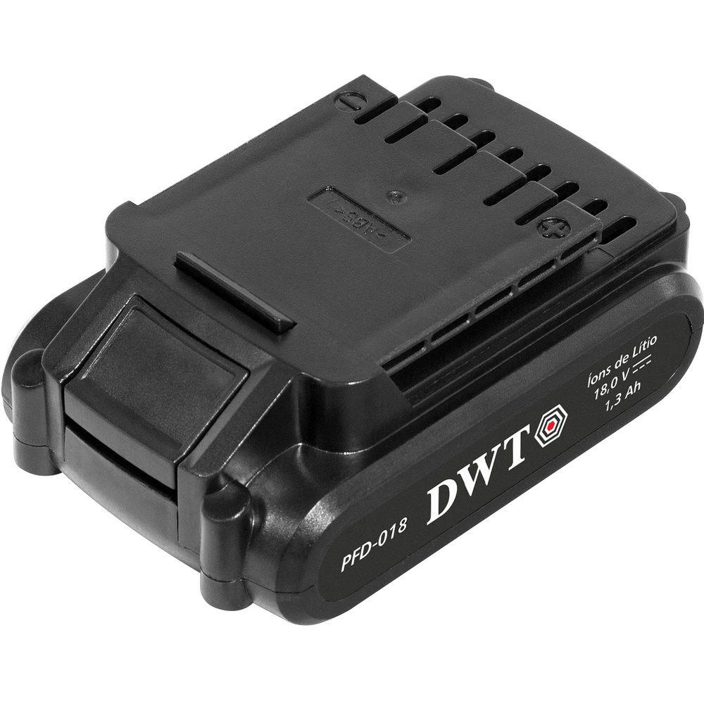 """Parafusadeira/Furadeira com 2 Baterias 18,0V 3/8"""" PFD018 Bivolt DWT"""