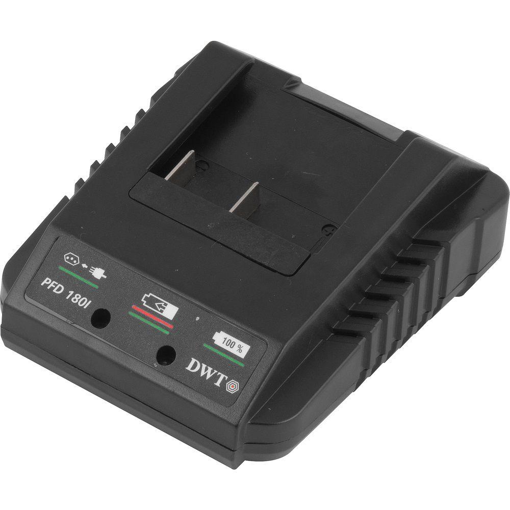 """Parafusadeira/Furadeira com Impacto e 2 baterias 18,0V 3/8"""" PFD180I Bivolt DWT"""