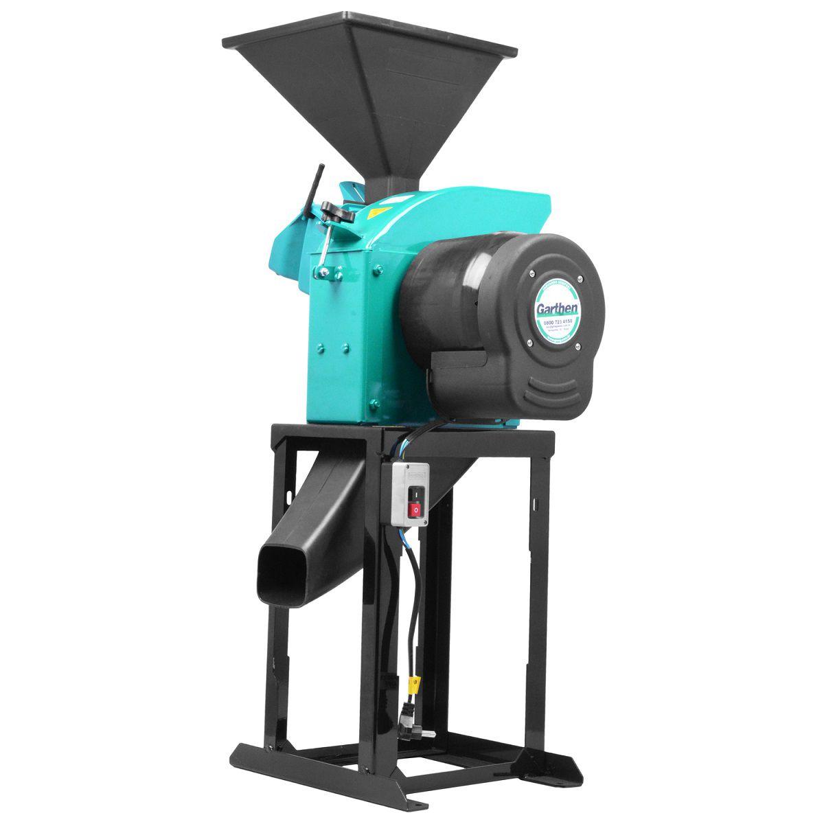 Picador e Triturador Forrageira GTI-2000 LDF 2HP Monofásico - Garthen