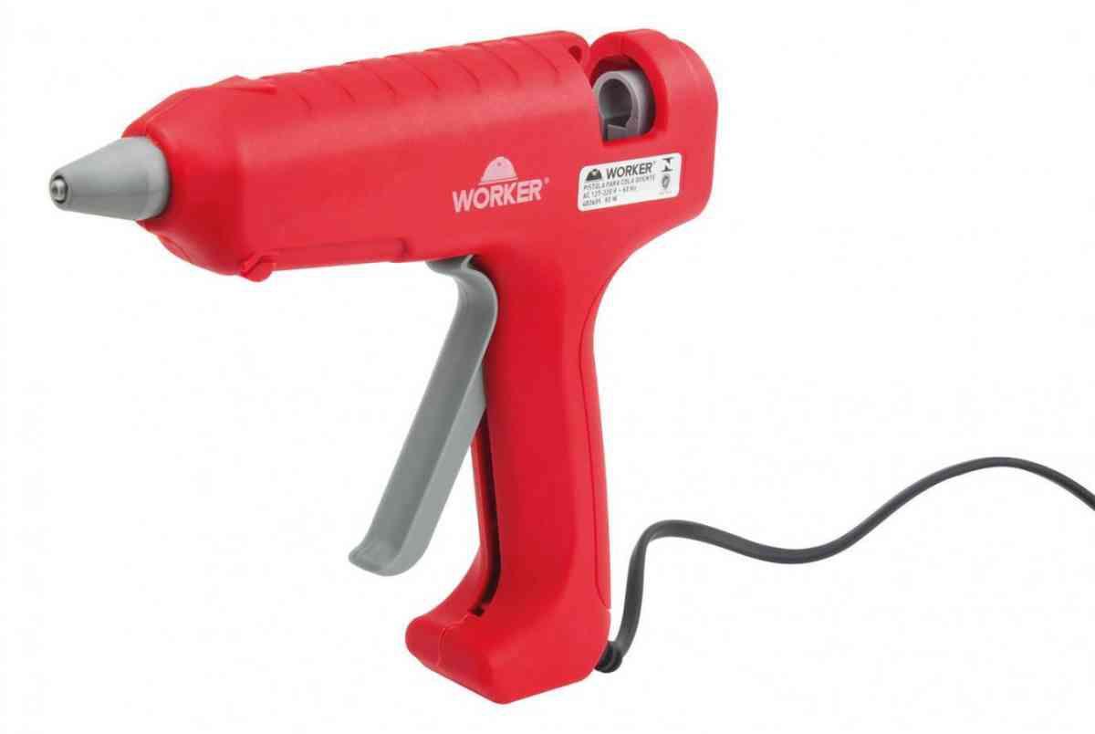 Pistola de Cola Quente 12Mm Grande 80W Worker