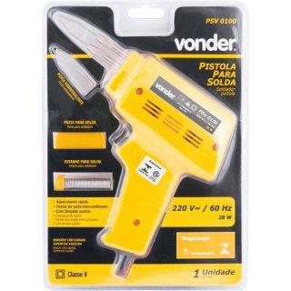 Pistola para solda PSV 0100 220 V VONDER