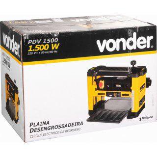 Plaina desengrossadeira PDV 1500 220V VONDER