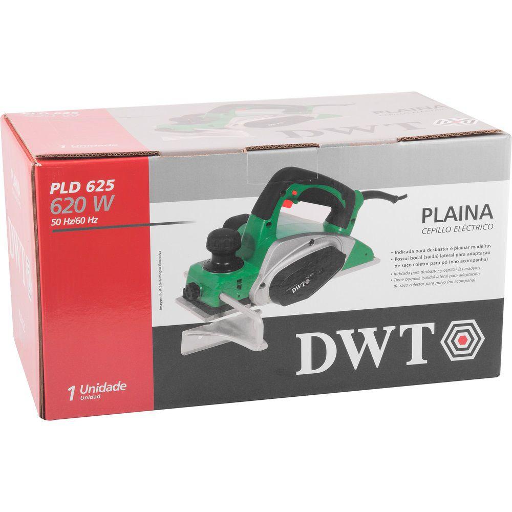 Plaina Elétrica 620W PLD625 220V DWT