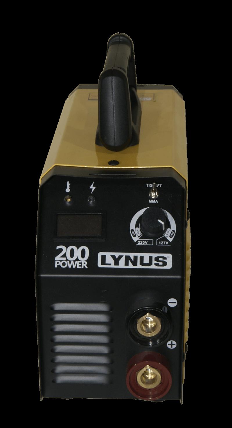 POWER INVERSOR DE SOLDA LIS-200 Bivolt Lynus