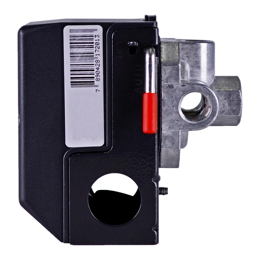 Pressostato para Compressor 4 vias 100-140psi