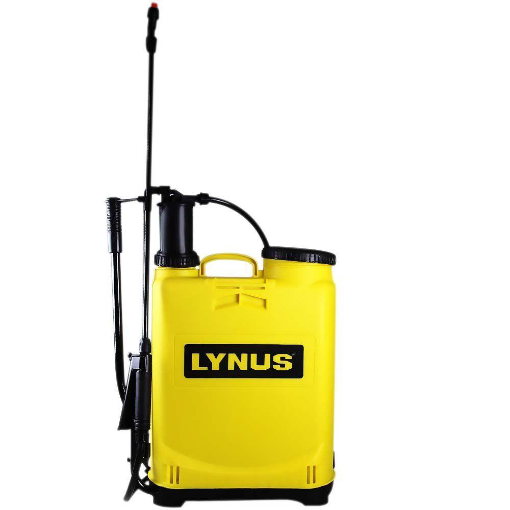 Pulverizador Costal 16 Litros Bomba De Veneno - Lynus
