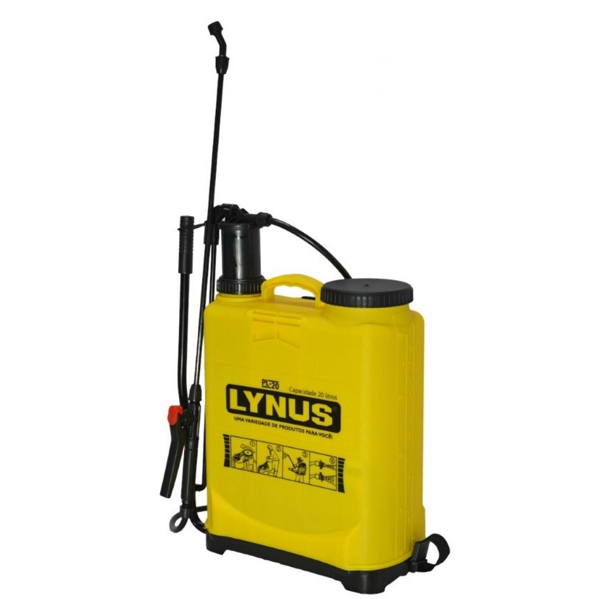 Pulverizador Costal 20 Litros Bomba De Veneno - Lynus