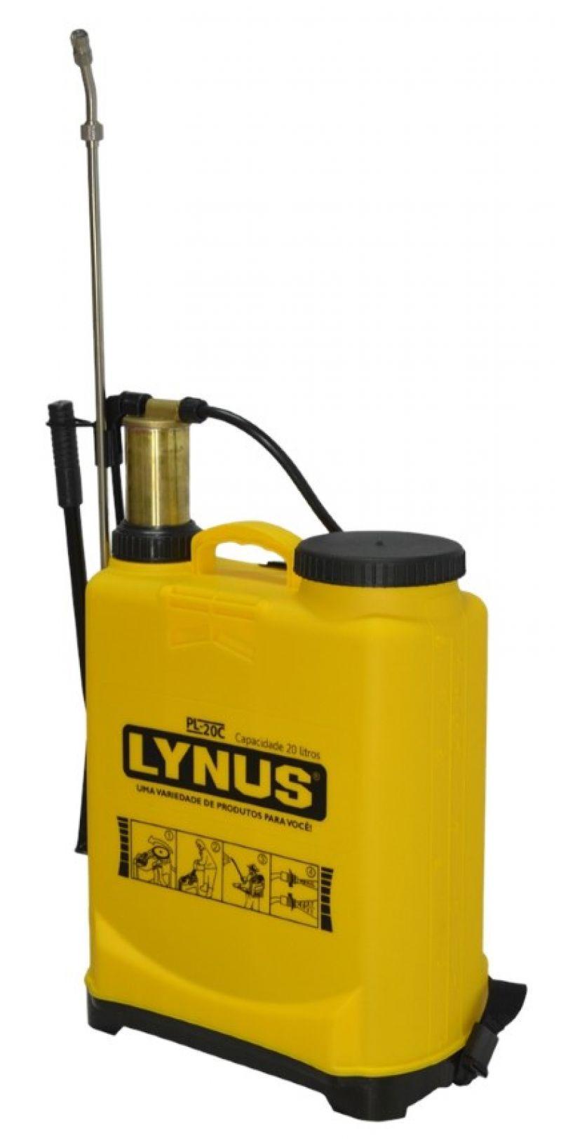 Pulverizador Costal  20L Profissional Bomba Veneno Cobre - Lynus