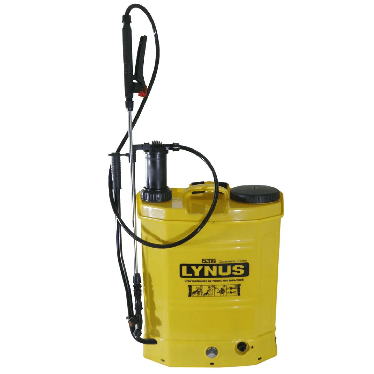 Pulverizador Costal 2 em 1 a Bateria/Manual 18l Lynus