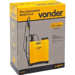 Pulverizador costal agrícola 20 litros PC 020 Vonder