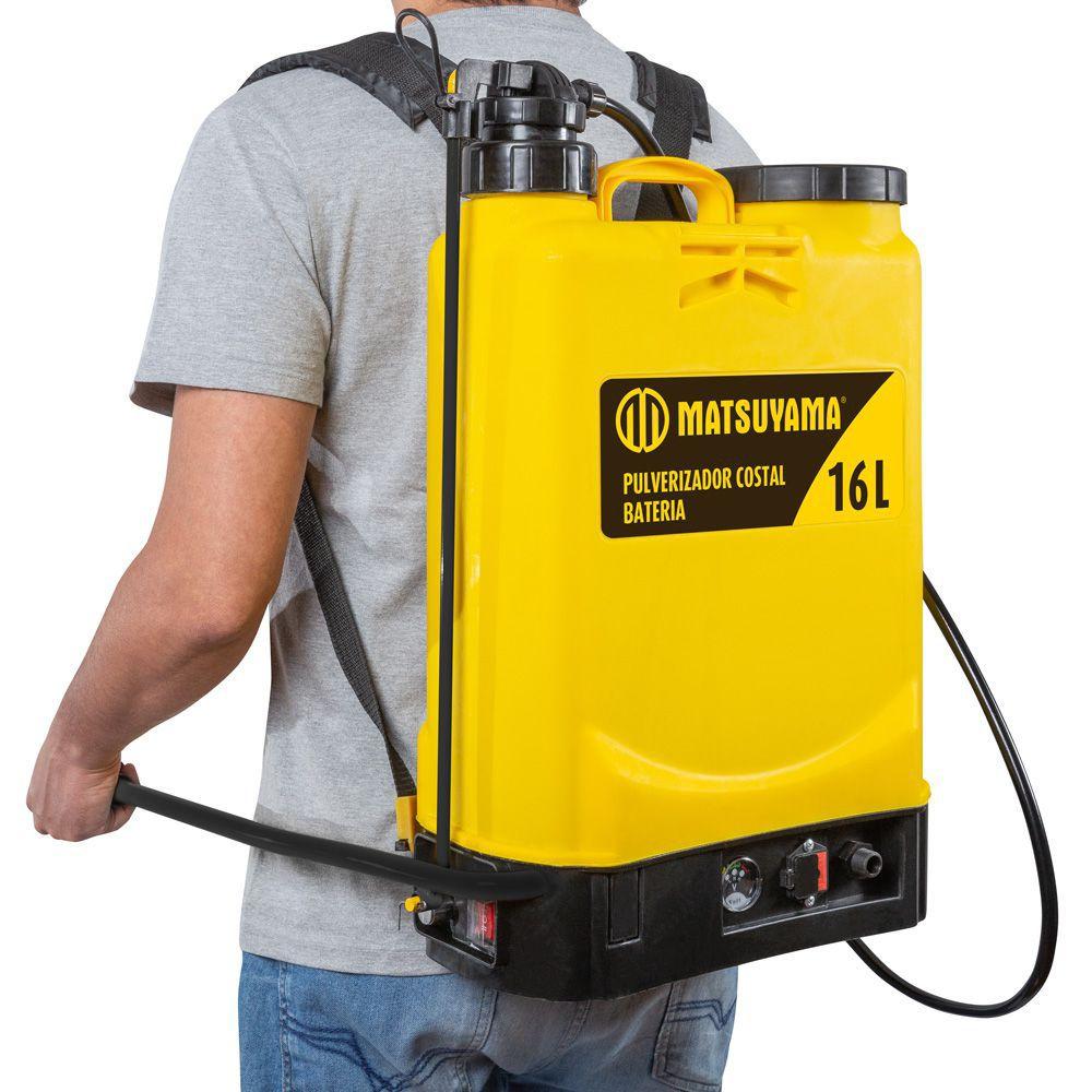 Pulverizador Costal Bateria 16L - Matsuyama