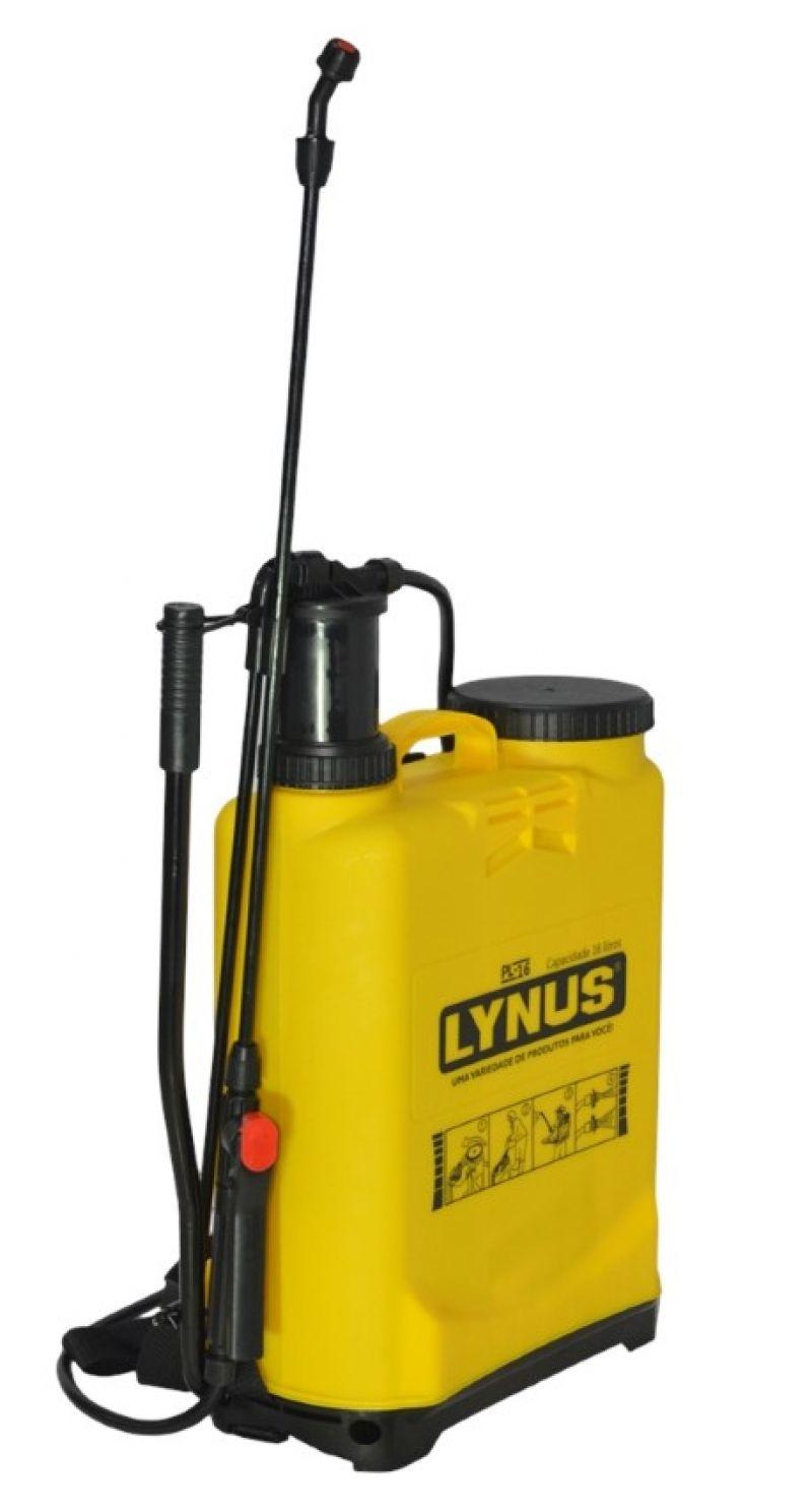 Pulverizador Costal PL 16 Litros Bomba De Veneno Lynus