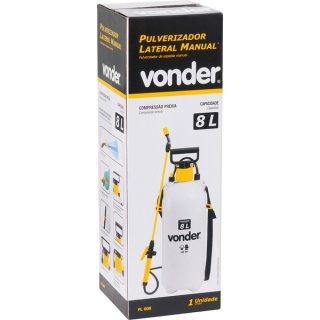 Pulverizador Lateral 8L C/ Compressão Prévia PL008 Vonder