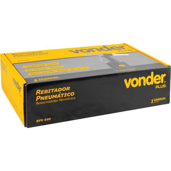 Rebitador Pneumático RPV640 VONDER PLUS
