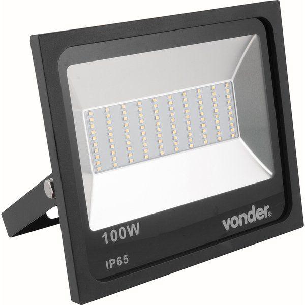 Refletor de Led 100w Bivolt Automático - Vonder