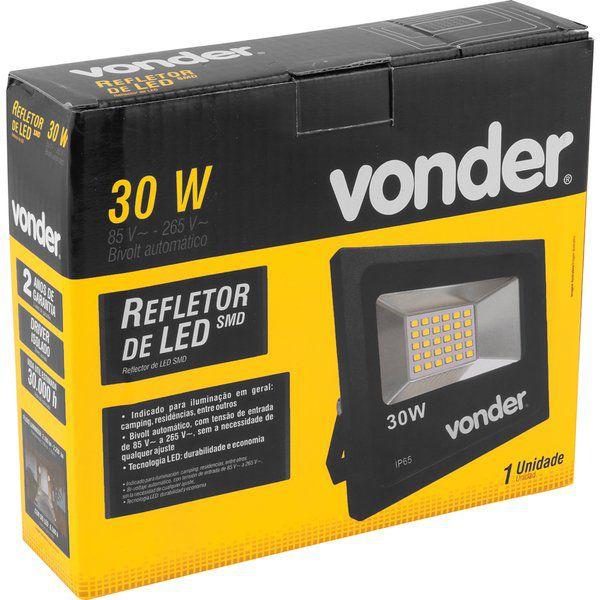 Refletor de Led 30w Bivolt Automático - Vonder
