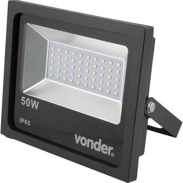 Refletor de Led 50w Bivolt Automático - Vonder